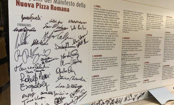 Manifesto della Pizza Romana