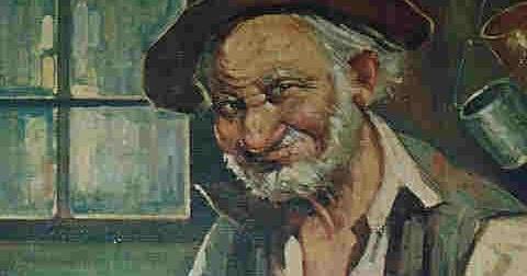 Quadro ironico del sedicente (inventato) pittore Teomondo Scrofalo